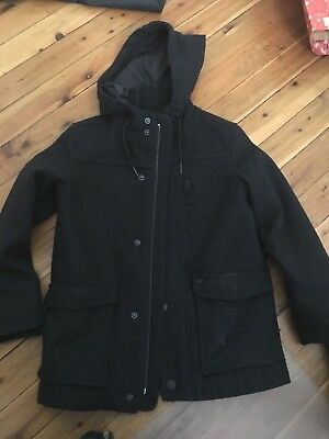 Indie Charcoal Wool Boys Jacket Size 6