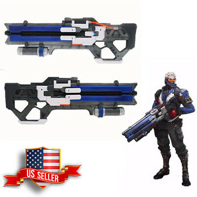 OW Overwatch Soldier 76 Custom gun weapon High Density Cosplay Prop Toy 39/""