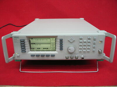 Wiltron(Anritsu) 68347B(w/opt.2A,11,16) -Synthesized Signal Generator Calibrated