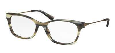 e56b8aeaee Authentic TORY BURCH 2063 - 1553 Eyeglasses Olive Horn Vintage Gold  NEW   51mm