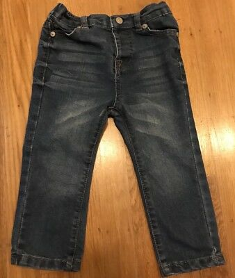7 For All Mankind Baby Unisex 24m Denim Skinny Jeans