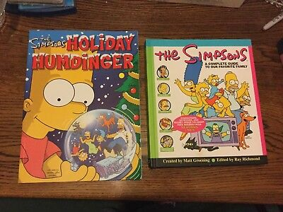 The Simpsons A Complete Guide To Our Favourite Family & Holiday Humdinger Books