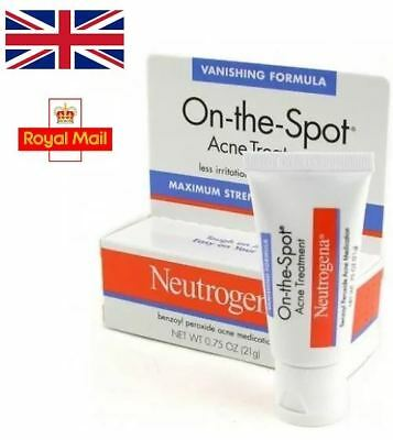 Neutrogena On The Spot Acne Treatment Face Cream Fast Working Formula