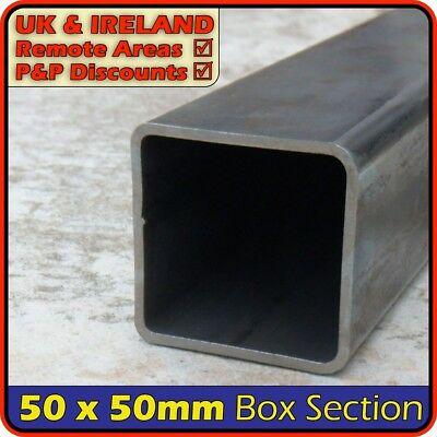 Mild Steel Square Tube ║ 50 x 50 mm ║ box section iron,profile,tubing,pipe