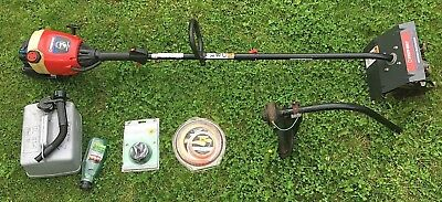 Troy-Bilt TB20CS Petrol Strimmer + TBGC Garden cultivator attachment + spares