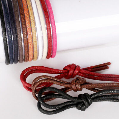 New Shoelaces Round Waxing Shoe Laces Shoestrings Business Footwear Bootlaces