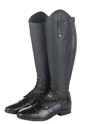 HKM Tokio Long Horse Riding Boots Black