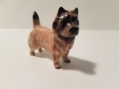 Beswick Cairn Terrier Figurine Tan with Brown/Black Face
