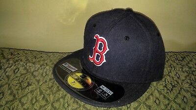low priced 943c3 60ab5 real new era boston red sox game 59fifty fitted hat navy mlb cap 7 1 7c29d
