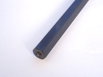 Spacer Rod Steel Magnetic 17 mm hexagonal, 390 mm, threaded M8 x 1.25