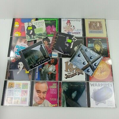 Lot of 20 Misc 80's, 90's Cd's Various Artists Bands Genres    #20