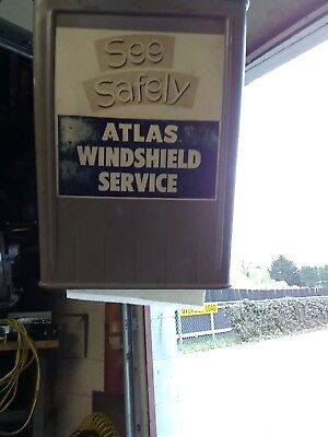 Atlas Windshield Service Center....see Safely..have Your Windshield Cleaned