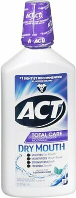 Ct Total Care Dry Mouth Anticavity Fluoride Mouthwash, Mint- 33.80 Oz� Pack Of 6