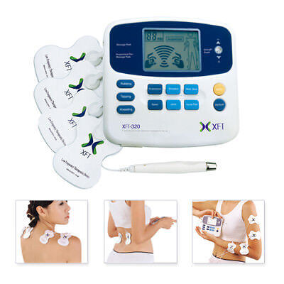 TENS Massager Full Body Massage Machine XFT-320 Dual Channel Muscle Acupuncture