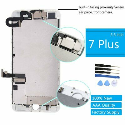 White LCD Replacement Screen 3D Touch Digitizer Asembly for iPhone 7 Plus 5.5""