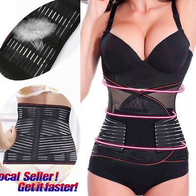 Postpartum Recovery Belly Waist Tummy Belt Shaper Slimming Body Support Girdle O