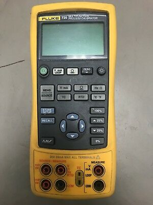 FLUKE 725 Multifunction Process Calibrator! GOOD USED CONDITION! NO LEADS!