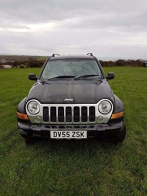 Jeep cherokee 2.8 crd 2005 automatic diesel  spares or repair see description