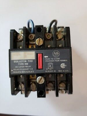 700-Nm400A1 Allen Bradley Ac Latch Relay