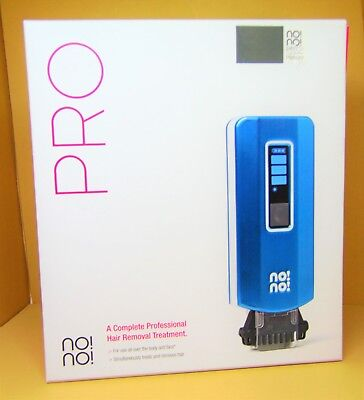 no!no! Pro Hair Removal Device for Face and Body, Blue NEW
