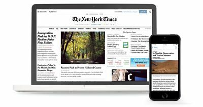 NYT - New York Times - 1 Year Digital - NYT