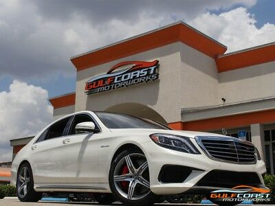 S-Class AMG S 63 2017 Mercedes-Benz AMG S 63 White 16k miles