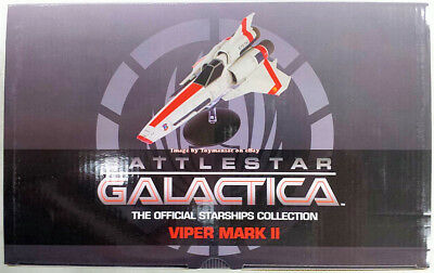 Eaglemoss Battlestar Galactica Official Starships Collection #1 - VIPER MARK II