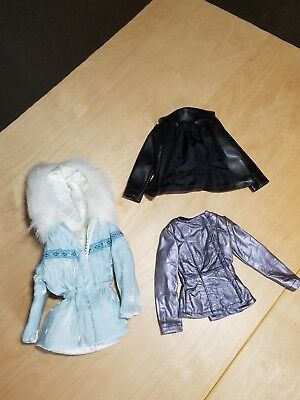 Madame Alexander, Set of 3 COATS, Alex, Paris, and other 16in Dolls