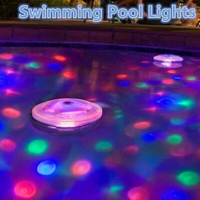 5 Modes Colorful Water Light,Floating Lamp for Swimming Pool/SPA/Bath Tub