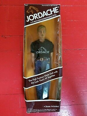 Jordache 12 inch Mego action figure high fashion doll 1981 in the box