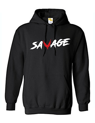 Unisex SAVAGE Top Team 10 Logan Jake Inspired Paul Youtuber  Hoodie