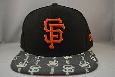 best sneakers 84a31 bedc3 San Francisco Giants 9Fifty Snapback Authentic New Era Hat Cap MLB in Black
