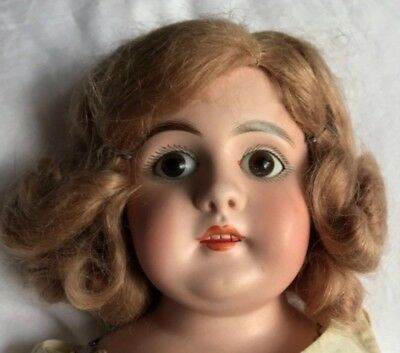 Antique Doll Leather Body Bisque Head and Hands German French??