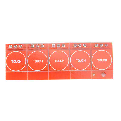 5Pcs TTP223 Capacitive Touch Switch Button Self-Lock Module for Arduino E&F