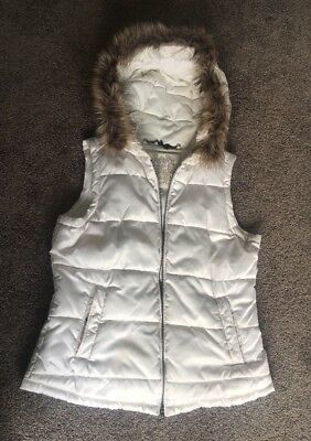 Forever New Boucle Vest Size 10 Used Few Time