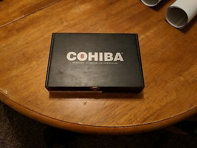 Cohiba cigar box black