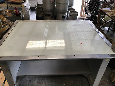 commercial printing light table 36x50