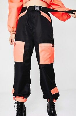 I AM GIA neon imperator pants size M and top size XS