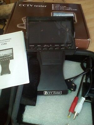 STANDARD definition CCTV TESTER, PLEASE NOTE THIS DOES NOT DETECT AHD