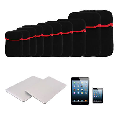 """7""""-17"""" Inch Soft Sleeve Bag Case Pouch Cover For iPad Tablet Laptop PC Notebook"""