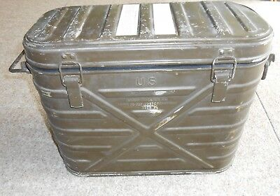 US-Army-Military-Insulated-Hot-Cold-Food-Container-Cooler-1968-Vietnam era