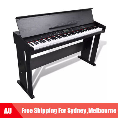 Electronic Piano Digital Piano with 88 keys & Music Stand Classic Keyboard D7J2