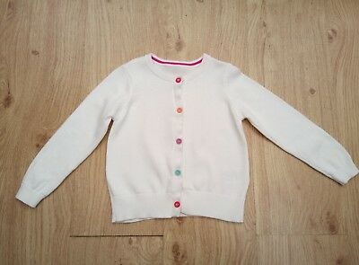Girls White Cardigan from Mothercare - Age 18-24 months - New Without Tags