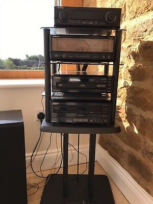 Vintage Technics Stereo Stack Hi-Fi System Separates Ca10