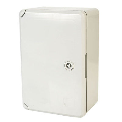 Hylec DED001 ABS Enclosure with Blank Door 20 x 30 x 13cm