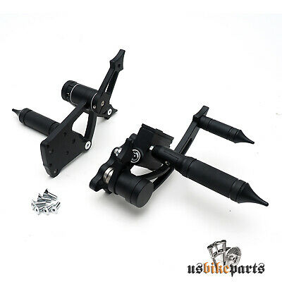 Black Aluminium Forward Controls for Twin Cam Softail 2000-2013 Except for Deuce