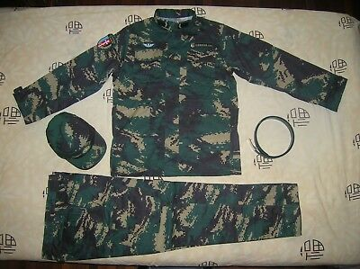 07's series China PLA Special Forces Soldier Digital Camo Combat Clothing,Set