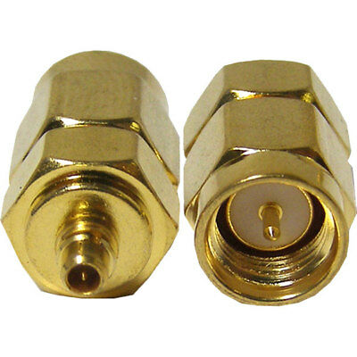 RF Solutions ADP-SMAM-MMCXM Adapter SMA Male to MMCX Male