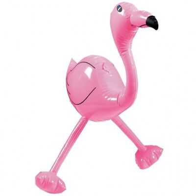 51cm Inflatable Pink Flamingo Hula Tropical Animal Party Toy Pool Beach Hen Stag