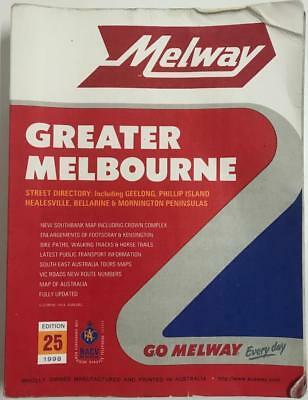 ** Vintage ** Melway Edition  25 ~ 1998 ~ Collectable!!